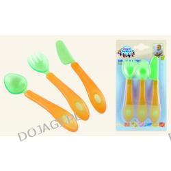 Sztućce dlaa niemowląt / łyżeczka, widelec, nóż/ Canpol