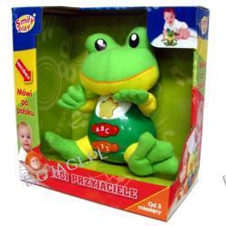 Żabka przytulaczek mówiący po polsku Smily Play