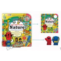 Książeczka interaktywna z grami Crocopen - Zabawa słowami - Natura