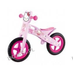 Drewniany rowerek biegowy Hello Kitty