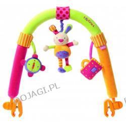 Interaktywny łuk z zabawkami zając Fehn