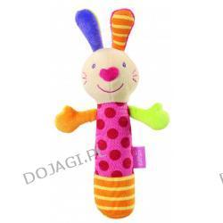 Zabawka pluszowa z piszczkiem Zając Fehn
