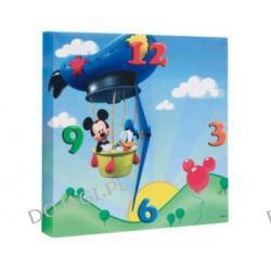 Zegar ścienny Myszka Mickey i Kaczor Donald