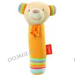 Zabawka pluszowa z piszczkiem Niedźwiadek Pomarańczowy