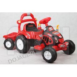 Pojazd elektryczny Traktorek + przyczepa ARTI