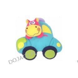 Zabawka z przyssawką-hipcio-dziecko w samochodzie