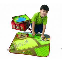 Wielofunkcyjny kuferek z zabawkami - Farma mini
