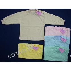 Koszulka zapinana na ramiączkach frotta 74-86