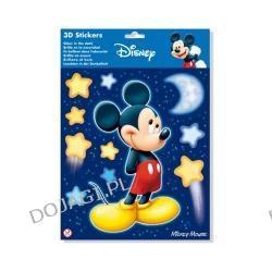 Naklejka świecąca w ciemności 3D Myszka Miki -mała