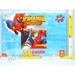 "500 elementów ""Spiderman"" - Puzzle TREFL 3D"
