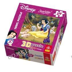 """Królewna Śnieżka """"Wśród zwierząt"""" - Puzzle3D 210 elementów"""