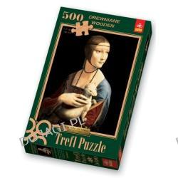 """""""Dama z gronostajem"""" - Puzzle 500 ELEMENTÓW"""