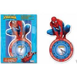 Zegar świecący w ciemności 3D– Spiderman