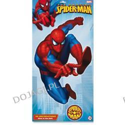 Dekoracja świecąca w ciemności 3D Spiderman - duża