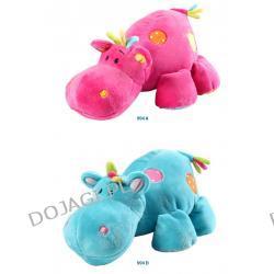 Zabawka welurowa z grzechotką HIPPO mała Baby Ono