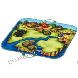 Kuferek mini wielofunkcyjny z zabawkami - Dinozaur Zip Bin