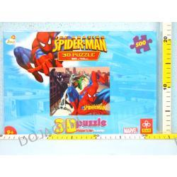 """Spiderman"" - Puzzle TREFL 3D 500"
