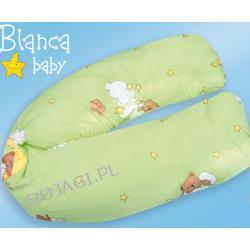 Poduszka Wąż 160cm - wypełnienie perełkowe Blanca Baby