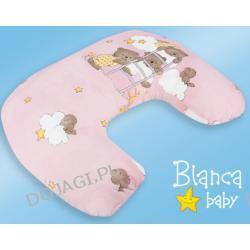 Poduszka Rogal - wypełnienie perełkowe Blanca Baby