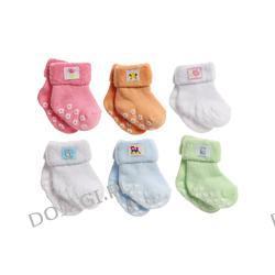 Skarpetki antypoślizgowe bawełna/frotte Baby Ono 0- 6 m.