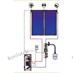 Pakiet solarny CosmoSUN Basic 2 x 2.00 + Fish 200 S2 z zestawem mont.