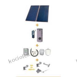 Pakiet solarny CosmoSUN Basic 2 x 2.00 + Fish 200 S2 bez zestawu mont.
