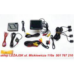 KAMERA COFANIA+MONITOR LCD 3,5+SYS.PARK.4 CZUJNIKI