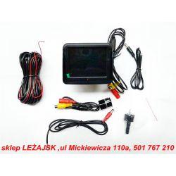 KAMERA COFANIA+MONITOR LCD 3,5'