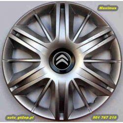 Kołpaki MAXIMUS 15' emblematy GRATIS AUDI RENO VW-