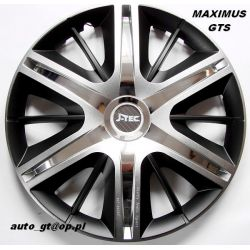 Kołpaki MAXIMUS GTS 16 emblematy GRATIS AUDI VW ..