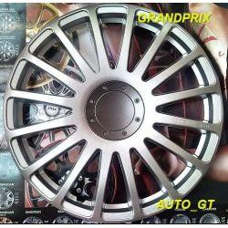 Kołpaki GRAND PRIX 13 14 emblemat gratis OPEL FIAT