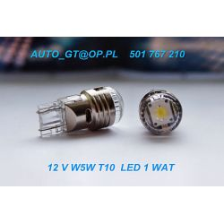 Dioda LED CREE  L055 1 X LED 3 WAT - biała MOCNA !