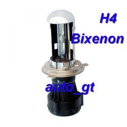 Zestaw HID SLIM H4 Bi Xenon M-Tech nie zakłóca CB