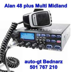CB radio ALAN 48 Plus Multi AM/FM-GW-0 NAJLEPSZE !