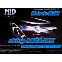 ZESTAW XENON Cyfrowy Slim H1 H3 H4 H7 H11 Hb4 HID